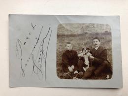 Foto Ak Chien Paris 1907 - Dogs