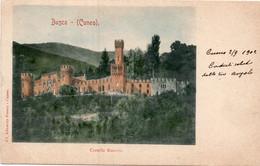 BUSCA - CASTELLO ROCCOLO - FORMATO PICCOLO (retro Indiviso) - VIAGGIATA 1902 - (rif. L72) - Cuneo