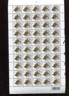 Belgie 3199 Buzin Volledig Vel FULL SHEET Vogels Birds Oiseaux MNH Plaatnummer 2 10/5/2004 - Full Sheets