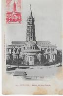 TOULOUSE Abside De Saint SERNIN Avec Timbre Commémoratif - Toulouse