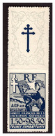 France Libre  Timbre N° 6 Neuf ** - Unused Stamps