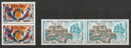 FRANCE    1976    Paires   N° Y&T  1912 Et 1913  ** - Nuevos