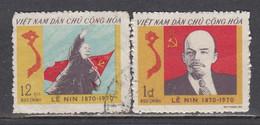 Vietnam Nord 1970 - (2) 100th Birthday Of Lenin, Mi-Nr. 608/09, Used - Viêt-Nam