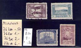 Michel N°767,768,769,770 - Nuevos