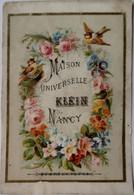 Maison Universelle Klein, Nancy - Articles De Voyage Et De Chasse, Maroquinerie, Bijouterie, Jouets, Parfumerie - Otros