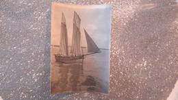 PHOTO ANCIENNE - BATEAU DE PECHE - VOILIER - Schiffe