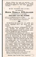Bidprentje Oorlog 40/45 - Neergeschoten 1° Dag  D'Olislager Maria °  Zwijndrecht 1910 - Melsele 1940 - Religion & Esotericism