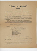 ° WW2 ° COLLABORATION ° POUR LA VERITE ° - Documentos Históricos