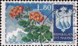 San Marino - Fx. 4292 - Yv. 381 - Flores - 1953 - Ø - Oblitérés