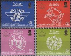 Ref. 148971 * MNH * - BRUNEI. 1986. INTERNATIONAL ORGANIZATIONS . ORGANIZACIONES INTERNACIONALES - Brunei (1984-...)