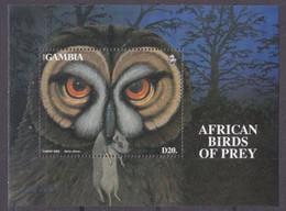 1993Gambia1564/B189Birds Of Prey10,00 € - Adler & Greifvögel