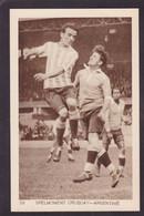 CPA Football Olympische Spelen 1928 Amsterdam Uruguay Argentine Voir Dos - Fussball