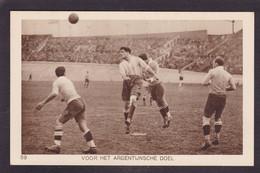 CPA Football Olympische Spelen 1928 Amsterdam Voir Dos Argentine - Fussball