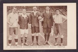 CPA Football Olympische Spelen 1928 Amsterdam Voir Dos Argentine Uruguay - Fussball