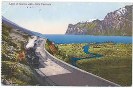 Lago Di Garda Train Eisenbahn Dampf Railway Stoomtrein Chemin De Fer Vapeur Bahn Ferrovia Dampflok - Ohne Zuordnung