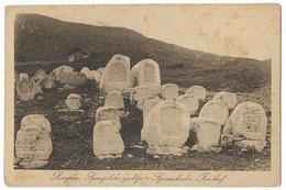 Bosnia 1910 Judaica Cemetery Sephardi B.7 - Judaisme