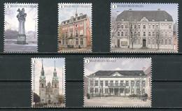 BE   4685 - 4689   XX  2017   ---   Places Ville D'Eupen  --  Timbres Du  Bloc BL249 - Unused Stamps