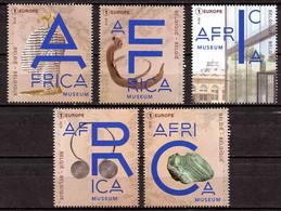 BE   4780 - 4784   XX  2018  ---   AfricaMuseum  --  Timbres Du Bloc BL264 - Nuevos