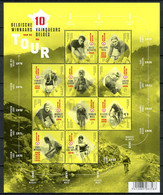BE   BL252   XX   2017   ---   10 Vainquers Belges Du Tour De France - Bloques 1962-....