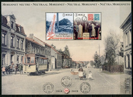 BE   BL272  XX   2019   ---   Moresnet Neutre - Bloques 1962-....