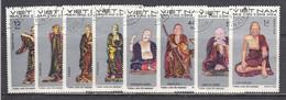 Vietnam Nord 1971 - (1) Sculptures Of The Tay Phuong Pagoda, Mi-Nr. 660/67, Used - Viêt-Nam
