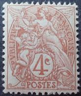 2818 - 1900/1924 - TYPE BLANC - N°110 NEUF** - 1900-29 Blanc