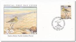 Marshall Islands 1990, FDC Unused, Birds - Marshall Islands
