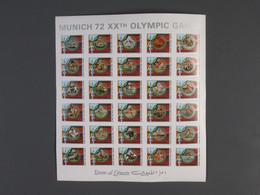 Umm Al - Qaiwaim Mi.Nr.847-858 Mini Sheet Michelwert 180,00 € - Umm Al-Qiwain