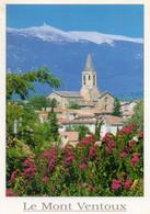 """- 84 - LE MONT VENTOUX, Le """"Géant De Provence"""" Vu De Mazan (Vaucluse) - - Mazan"""