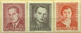 1952 Poland Slania 10th Anniversary Of PPR Origin Communism Leaders Nowotko, Fornalska MNH** - Ongebruikt