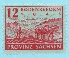 Z0097 - DUITSLAND - GERMANY - 1945 - BODENREFORM - Mi 86 - UNUSED - Zona Soviética