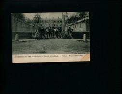 DEL041 - Carte En Franchise Militaire De L'hôpital Militaire Belge De Montreuil Sur Mer à La Panne 1917 - Andere Brieven
