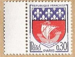 France - YT 1354B (1962-65) Armoiries De Villes (IV) Paris - Nuevos