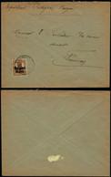 DEL049 - Lettre  De Fumay ( France  ) Adressée Au Contrôleur Des Douanes Allemandes 1917 - Altre Lettere