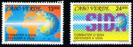 Cabo Verde - 1991 -  Anti-AIDS Campaign - Cape Verde