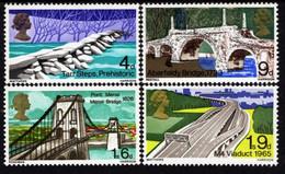 Great Britain - 1968 - British Bridges - Mint Stamp Set - Ungebraucht