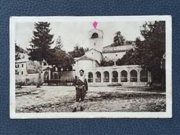Cetinje - Manastir / Monastery, Crna Gora / Montenegro, Postcards Traveled 1950`s  (Y3) - Montenegro