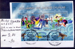 Türkey  Michel Block 104 ESST - Usados
