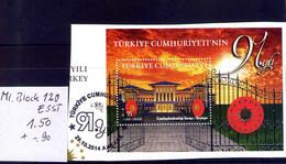 Türkey  Michel Block 120 ESST - Usados