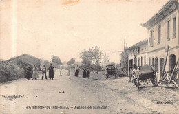SAINTE FOY DE PEYROLIERES  - AVENUE DE SAMATAN - Autres Communes