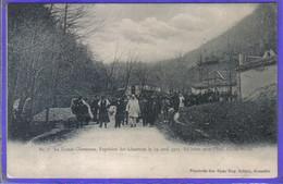 Carte Postale 38. Grande Chartreuse  Expulsion Des Chartreux 29 Avril 1903  Très Beau Plan - Otros Municipios