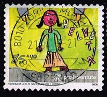 """Schweiz 2006,Michel# 1986 O  Pro Juventute 2006 - """"Mein Traumberuf"""" - Gebraucht"""