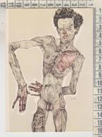 Wien - Albertina / Egon Schiele - Weiblicher Rückenakt 1910 - Schiele