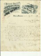 39 - Jura - Dole La Bedugue - Facture Brasserie Doloise - W.Gysin - Bières   - Distillerie -  1916 - Réf.50. - 1900 – 1949