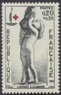 France - YT 1400 (1964) Au Profit De La Croix-Rouge. Centenaire De La Croix-Rouge Internationale. L'enfant à La Grappe, - Nuevos