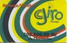 MOZAMBIQUE : MOZ01B 300000 Giro (1st Issue) Big Circles PLASTIC USED Exp: 01/06/2003 - Mozambique