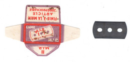 Lame De Rasoir Française M.I.R  - French Safety Razor Blade Wrapper - Razor Blades
