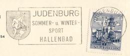 962  Caricature Antisémite. Juif, Chapeau Pointu: Flamme D'Autriche, 1965 - Jew, Jewish Hat: Judenburg Slogan Cancel - Jewish