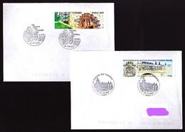 Lot De Vignettes D'affranchissement Commémoratives Sur Enveloppes - Plupart Circulées - Très Beau - 2010-... Illustrated Franking Labels