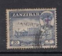 1964 Zanzibar 20c Sultan's Barge Definitive Local JAMHURI Overprint SG397 VF CDS USED - Zanzibar (1963-1968)